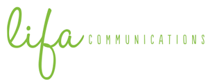 Lifa communications logo long